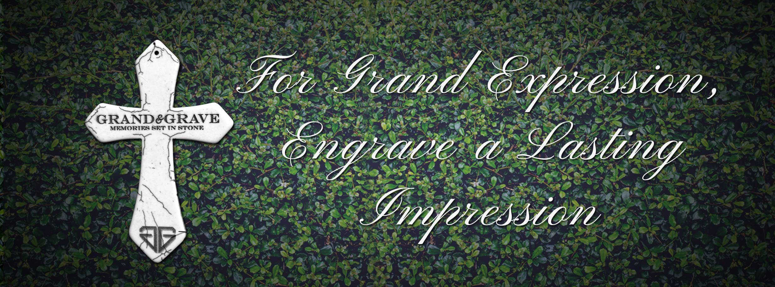 headstone memorial engraver brisbane Grand & Grave